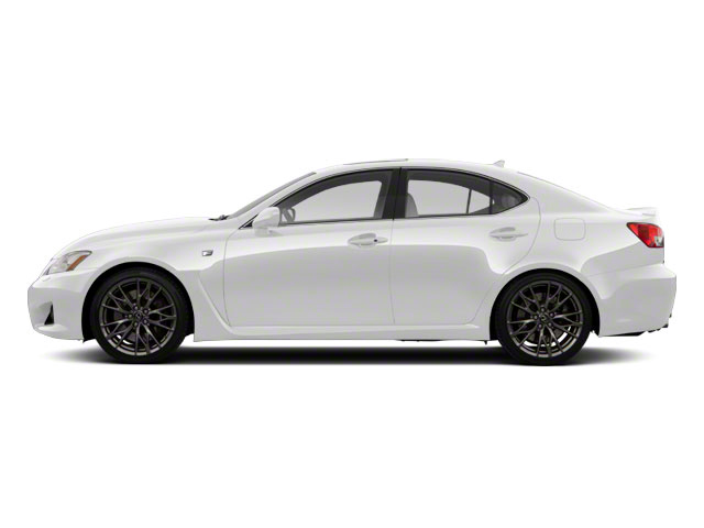 Starfire Pearl 2010 Lexus IS F Pictures IS F Sedan 4D IS-F photos side view