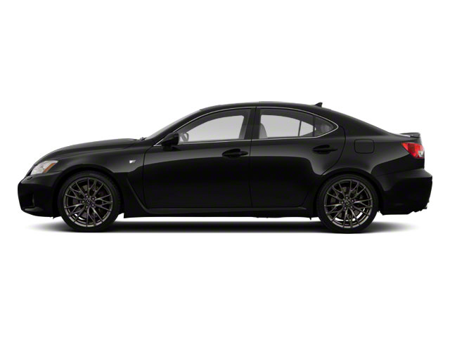 Obsidian 2010 Lexus IS F Pictures IS F Sedan 4D IS-F photos side view