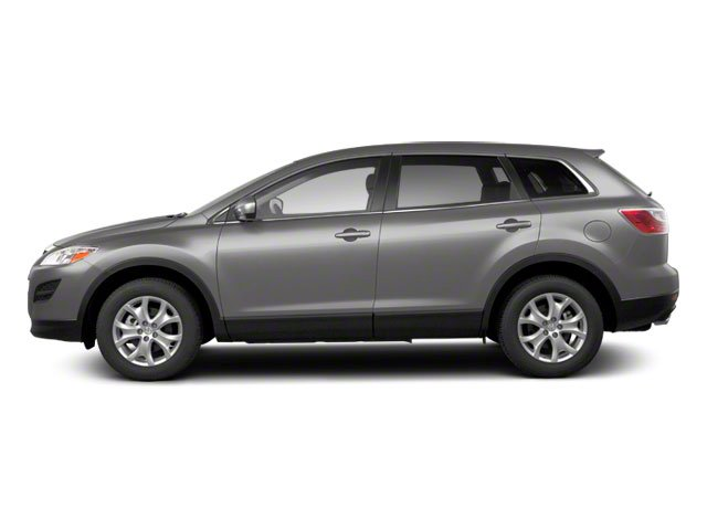 Liquid Silver Metallic 2010 Mazda CX-9 Pictures CX-9 Utility 4D GT 2WD photos side view