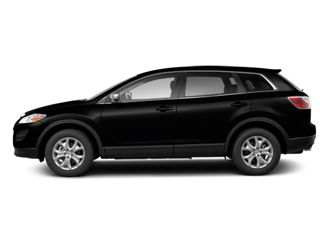 Brilliant Black 2010 Mazda CX-9 Pictures CX-9 Utility 4D GT 2WD photos side view