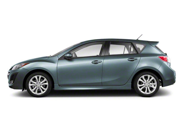 Gunmetal Blue Mica 2010 Mazda Mazda3 Pictures Mazda3 Wagon 5D s photos side view