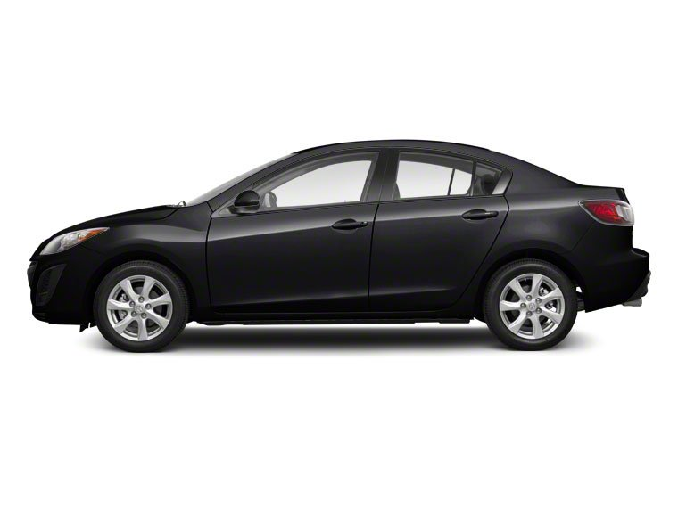 Black Mica 2010 Mazda Mazda3 Pictures Mazda3 Sedan 4D s photos side view