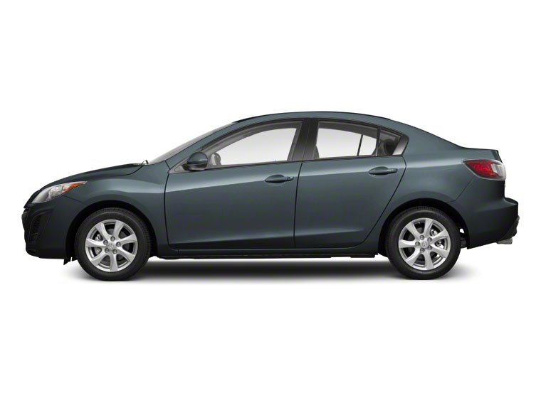 Gunmetal Blue Mica 2010 Mazda Mazda3 Pictures Mazda3 Sedan 4D s photos side view