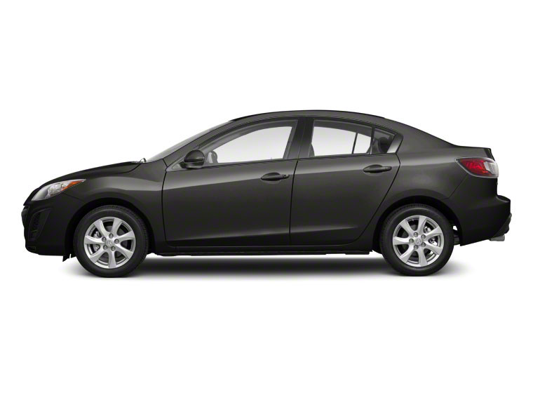 Graphite Mica 2010 Mazda Mazda3 Pictures Mazda3 Sedan 4D s photos side view