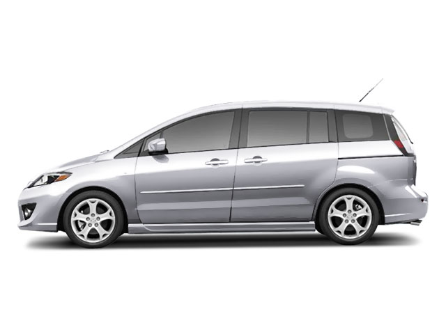 Liquid Silver Metallic 2010 Mazda Mazda5 Pictures Mazda5 Wagon 5D GT photos side view