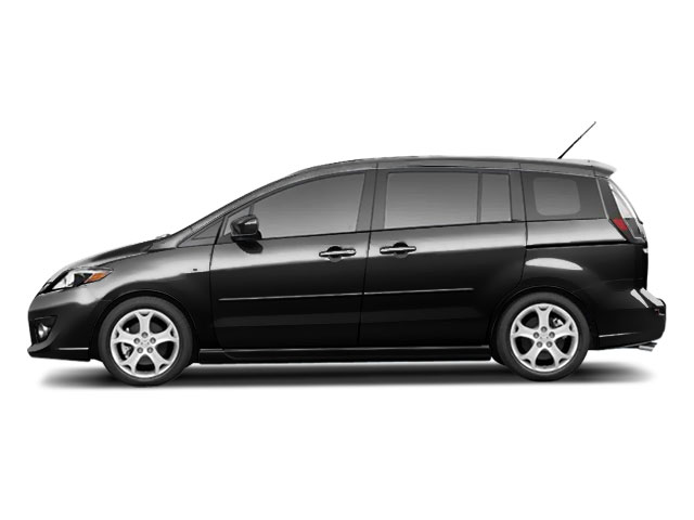 Brilliant Black 2010 Mazda Mazda5 Pictures Mazda5 Wagon 5D GT photos side view