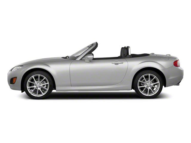 Liquid Silver Metallic 2010 Mazda MX-5 Miata Pictures MX-5 Miata Convertible 2D GT photos side view