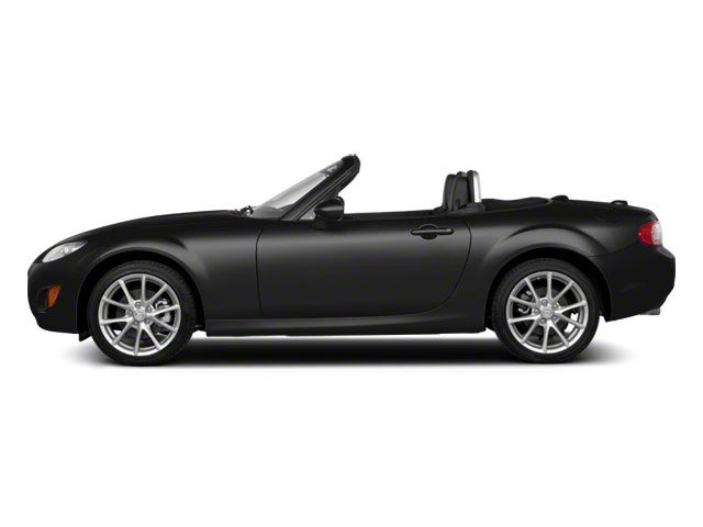 Brilliant Black Clearcoat 2010 Mazda MX-5 Miata Pictures MX-5 Miata Convertible 2D GT photos side view