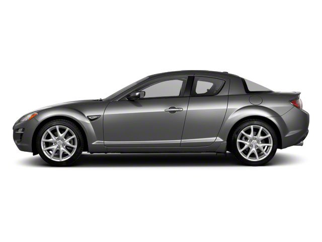 Liquid Silver Metallic 2010 Mazda RX-8 Pictures RX-8 Coupe 2D (6 Spd) photos side view