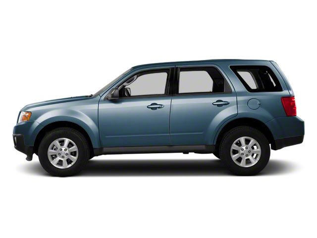 Steel Blue 2010 Mazda Tribute Pictures Tribute Utility 4D s 4WD photos side view
