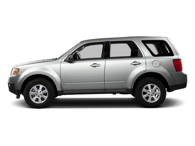 Ingot Silver 2010 Mazda Tribute Pictures Tribute Utility 4D s 4WD photos side view