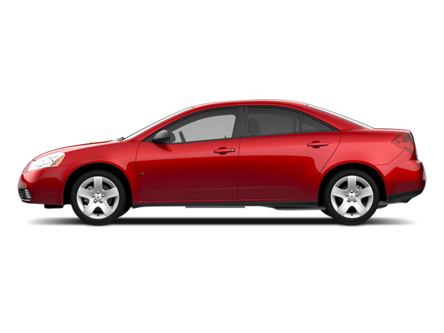 Performance Red Metallic 2010 Pontiac G6 Pictures G6 Sedan 4D photos side view