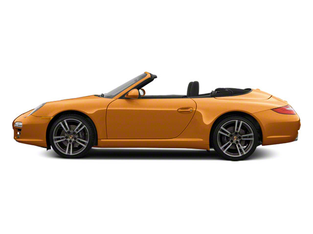 Nordic Gold Metallic 2010 Porsche 911 Pictures 911 Cabriolet 2D Turbo AWD photos side view