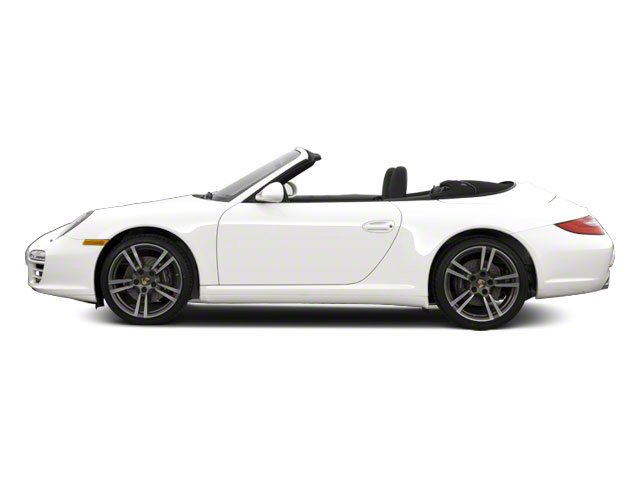 Carrara White 2010 Porsche 911 Pictures 911 Cabriolet 2D 4 AWD photos side view