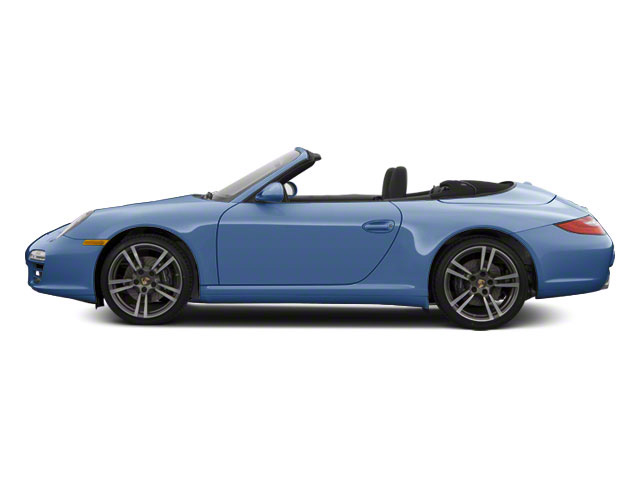 Aqua Blue Metallic 2010 Porsche 911 Pictures 911 Cabriolet 2D Turbo AWD photos side view