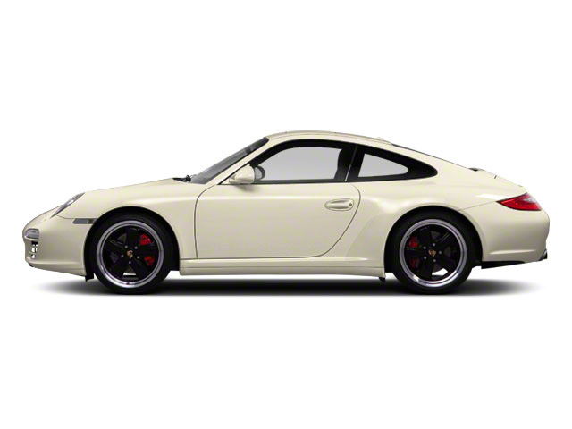 Cream White 2010 Porsche 911 Pictures 911 Coupe 2D 4S AWD photos side view