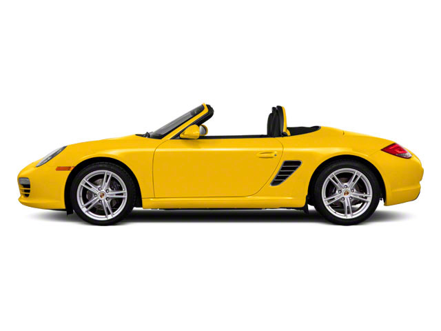 Speed Yellow 2010 Porsche Boxster Pictures Boxster Roadster 2D photos side view