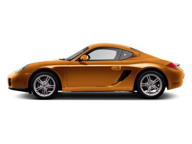 Nordic Gold Metallic 2010 Porsche Cayman Pictures Cayman Coupe 2D photos side view