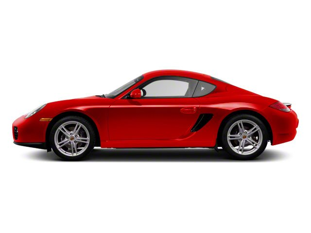 Guards Red 2010 Porsche Cayman Pictures Cayman Coupe 2D photos side view