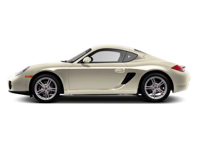 Cream White 2010 Porsche Cayman Pictures Cayman Coupe 2D photos side view
