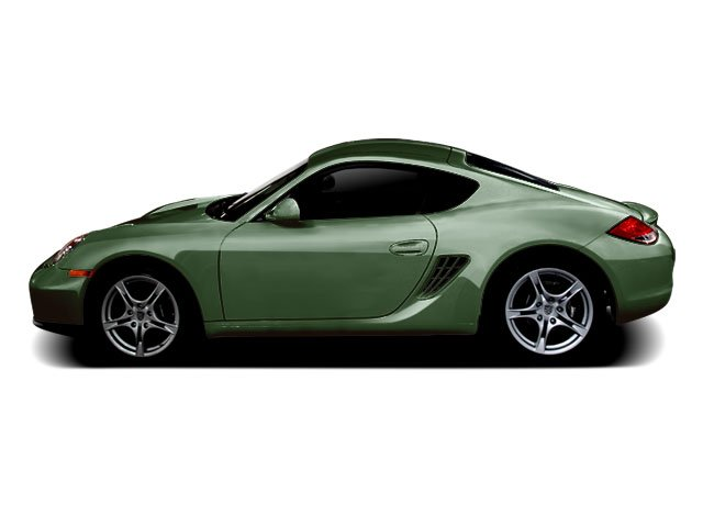 Porsche Racing Green Metallic 2010 Porsche Cayman Pictures Cayman Coupe 2D S photos side view