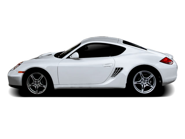 Arctic Silver Metallic 2010 Porsche Cayman Pictures Cayman Coupe 2D S photos side view