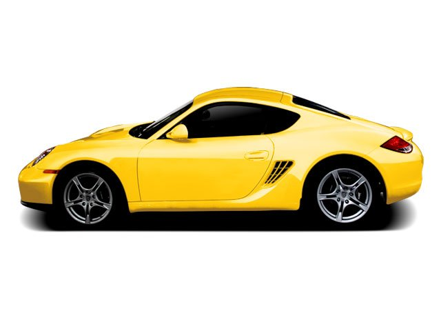 Speed Yellow 2010 Porsche Cayman Pictures Cayman Coupe 2D S photos side view