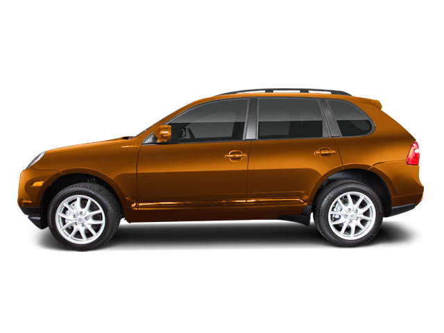 Nordic Gold Metallic 2010 Porsche Cayenne Pictures Cayenne Utility 4D Turbo AWD (V8) photos side view