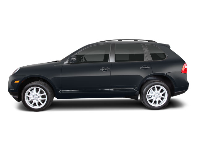 Meteor Gray Metallic 2010 Porsche Cayenne Pictures Cayenne Utility 4D Turbo AWD (V8) photos side view