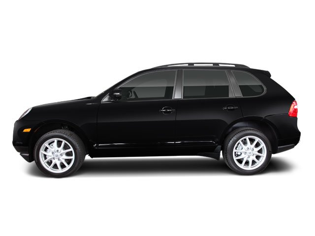 Black 2010 Porsche Cayenne Pictures Cayenne Utility 4D Turbo AWD (V8) photos side view