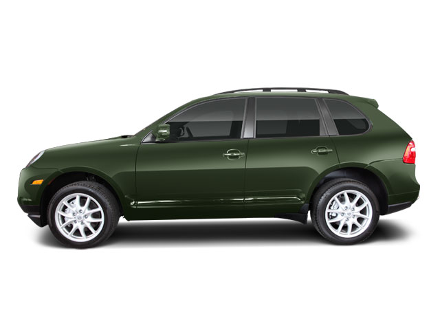 Olive Green Metallic 2010 Porsche Cayenne Pictures Cayenne Utility 4D GTS 4WD (V8) photos side view