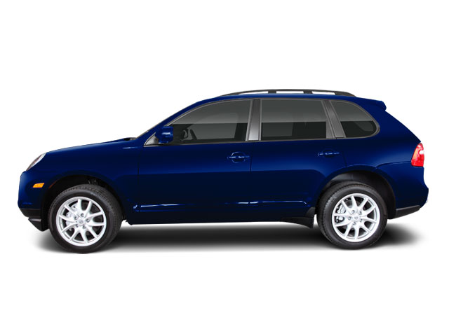 Marine Blue Metallic 2010 Porsche Cayenne Pictures Cayenne Utility 4D Turbo AWD (V8) photos side view