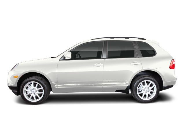 Sand White 2010 Porsche Cayenne Pictures Cayenne Utility 4D Turbo AWD (V8) photos side view