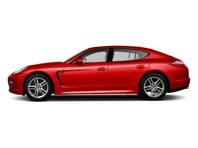 Ruby Red Metallic 2010 Porsche Panamera Pictures Panamera Hatchback 4D Turbo AWD photos side view
