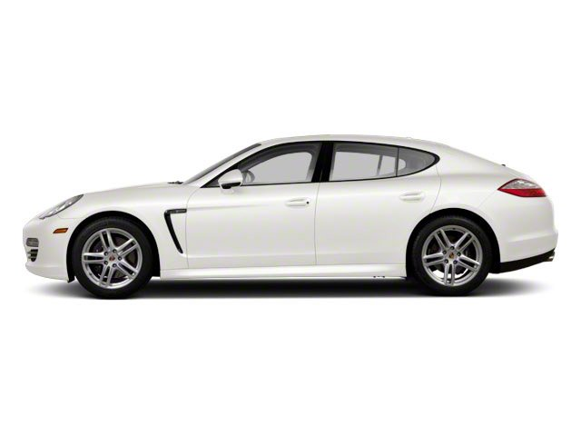 Carrara White 2010 Porsche Panamera Pictures Panamera Hatchback 4D Turbo AWD photos side view