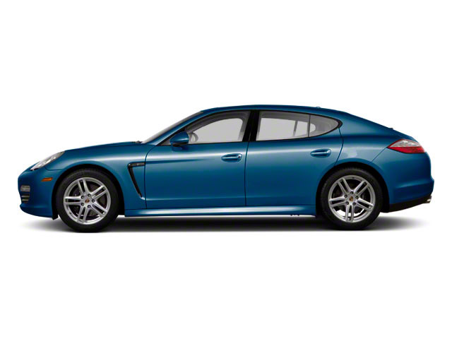 Aqua Blue Metallic 2010 Porsche Panamera Pictures Panamera Hatchback 4D S photos side view