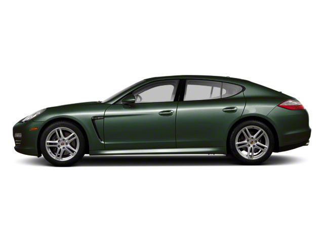 Jet Green Metallic 2010 Porsche Panamera Pictures Panamera Hatchback 4D Turbo AWD photos side view