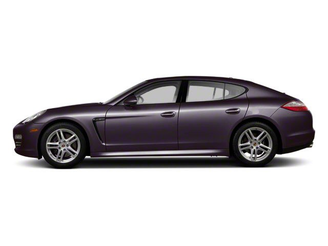 Amethyst Metallic 2010 Porsche Panamera Pictures Panamera Hatchback 4D S photos side view
