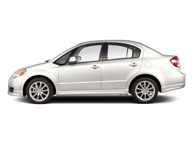 White Water Metallic 2010 Suzuki SX4 Pictures SX4 Sedan 4D photos side view