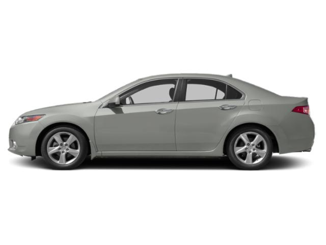 Forged Silver Metallic 2011 Acura TSX Pictures TSX Sedan 4D photos side view