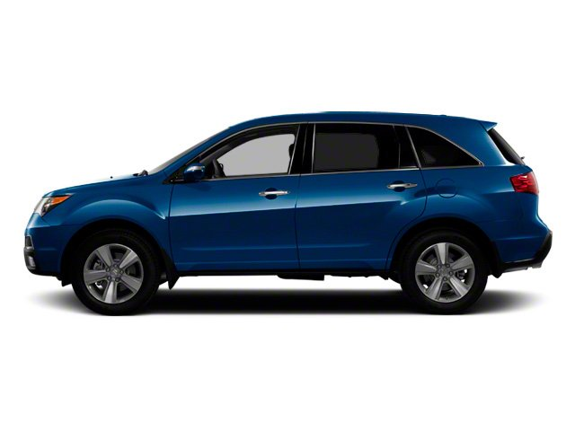 Bali Blue Pearl 2011 Acura MDX Pictures MDX Utility 4D Advance DVD AWD photos side view