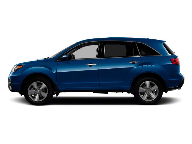 Bali Blue Pearl 2011 Acura MDX Pictures MDX Utility 4D Technology AWD photos side view