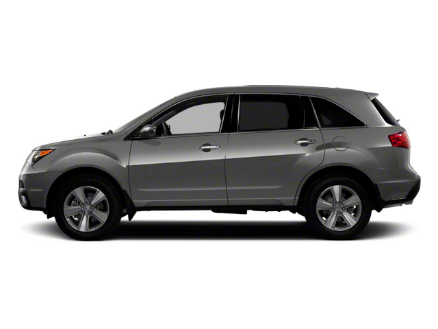 Polished Metal Metallic 2011 Acura MDX Pictures MDX Utility 4D Advance DVD AWD photos side view