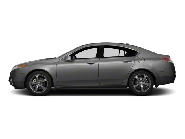 Polished Metal Metallic 2011 Acura TL Pictures TL Sedan 4D photos side view