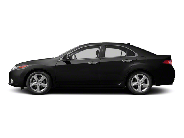 Crystal Black Pearl 2011 Acura TSX Pictures TSX Sedan 4D photos side view