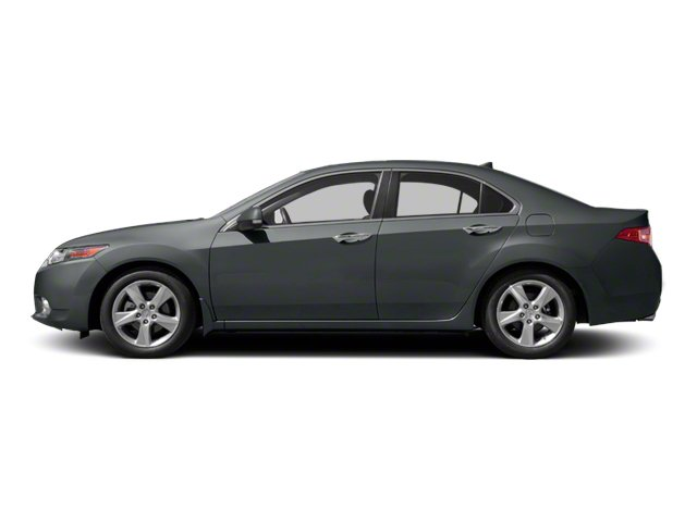 Graphite Luster Metallic 2011 Acura TSX Pictures TSX Sedan 4D photos side view