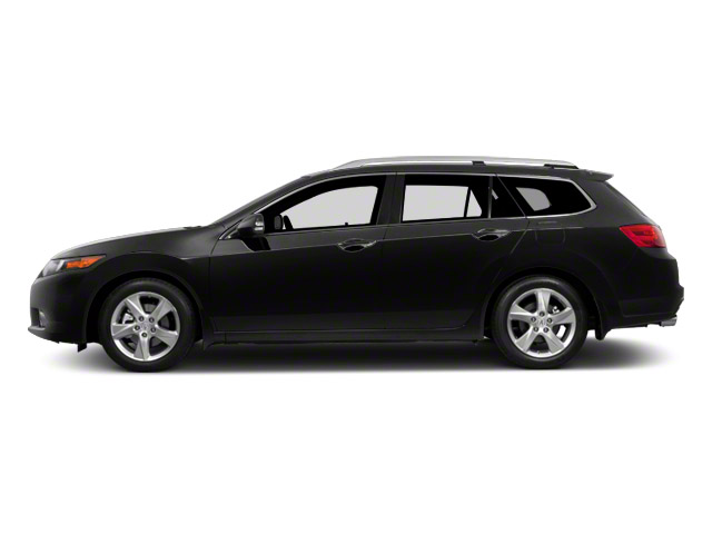 Crystal Black Pearl 2011 Acura TSX Sport Wagon Pictures TSX Sport Wagon 4D Technology photos side view