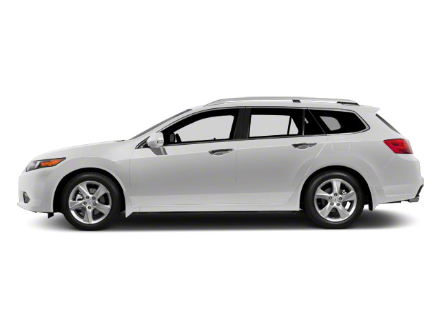 Premium White Pearl 2011 Acura TSX Sport Wagon Pictures TSX Sport Wagon 4D Technology photos side view