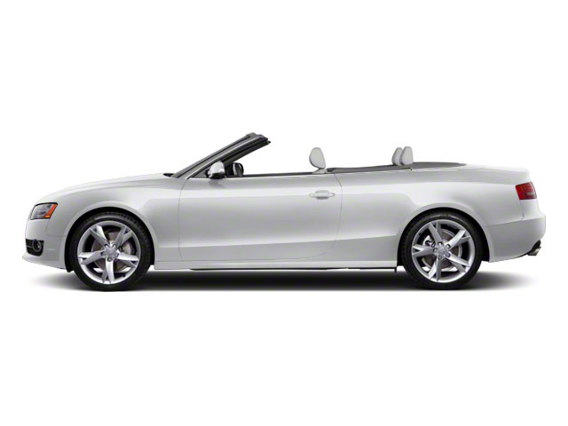 Ice Silver Metallic 2011 Audi A5 Pictures A5 Convertible 2D Quattro Prestige photos side view