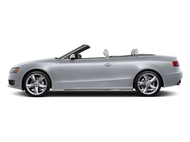 Quartz Gray Metallic 2011 Audi A5 Pictures A5 Convertible 2D Prestige photos side view